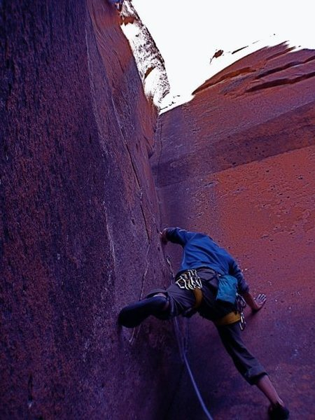 Rock Climbing Photo: Conor Uris on Not My Cross to Bear.