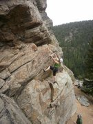 Rock Climbing Photo: The steep start....