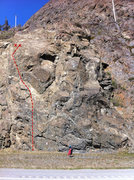 Rock Climbing Photo: Road Soda beta.