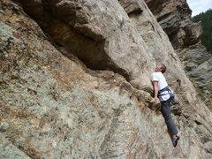 Rock Climbing Photo: Loving it!
