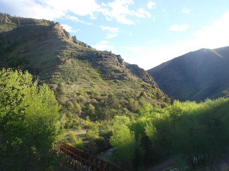 Canal Zone, Clear Creek Canyon.