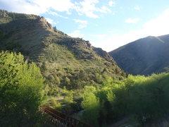 Rock Climbing Photo: Canal Zone, Clear Creek Canyon.