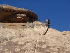 Rock Climbing Photo: Soloing Walkway.  photo by Sadie Welsh