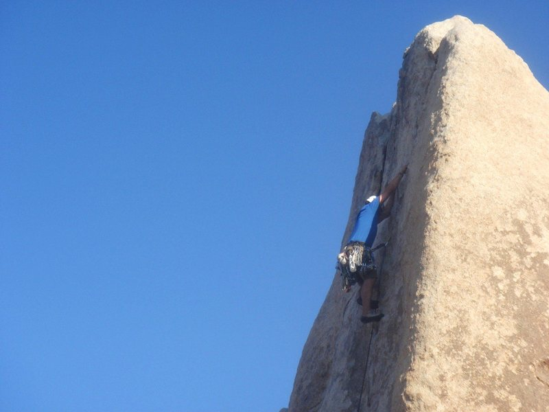 Rock Climbing Photo: Jason Partin leading Sail Away.