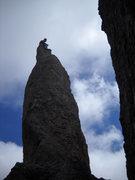 Rock Climbing Photo: Looking toward the highway
