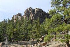 Rock Climbing Photo: Springer Gulch Wall.