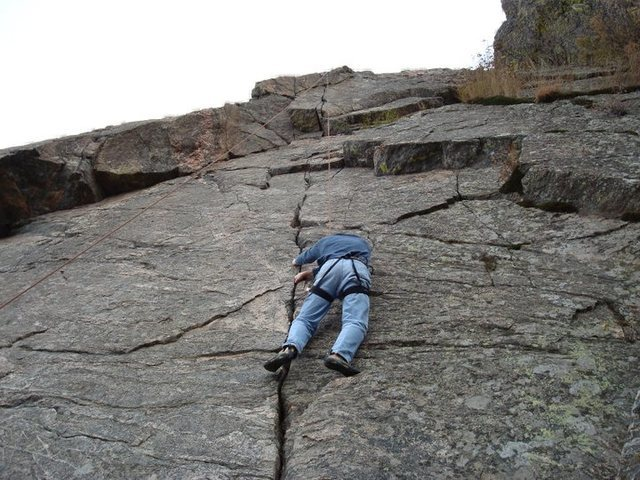 Dave Kenealy on 5.8 crack.
