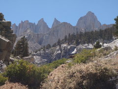 Rock Climbing Photo: awesome backdrop
