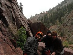 Rock Climbing Photo: Eldorado Canyon