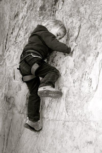 Rock Climbing Photo: Big Sky 5.7