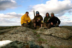 Rock Climbing Photo: Summit Devils Tower with the boys