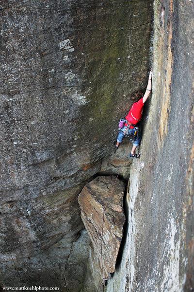 Rock Climbing Photo: Andy in March 2011. mattkuehlphoto.com