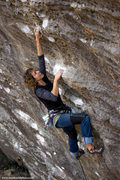 Rock Climbing Photo: Gitta Lubke on Convicted Fall 2009. mattkuehlphoto...