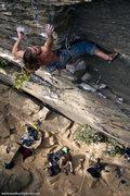 Rock Climbing Photo: Zak Romuald on 8-Ball. Fall 2009. mattkuehlphoto.c...