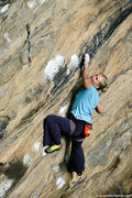 Rock Climbing Photo: Emily Harrington on White Man's Overbite. Fall 200...