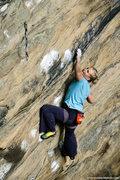 Rock Climbing Photo: Emily Harrington on White Man's Overbite. Fall 200...
