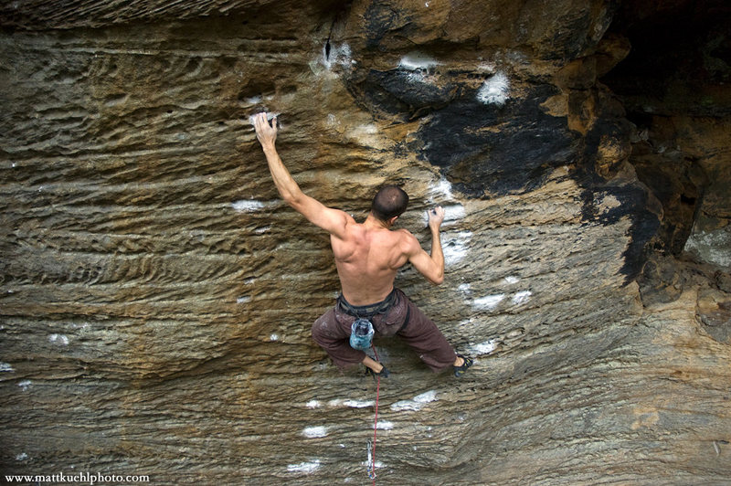 Rock Climbing Photo: Andrew Wheatley on Snooker. Fall 2009. mattkuehlph...