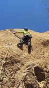 Rock Climbing Photo: Shallow pockets and good protection are the rule o...