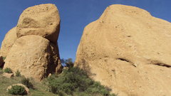 Rock Climbing Photo: The Egg, The Canyon, & The Chicken (Hyperion Slab)...