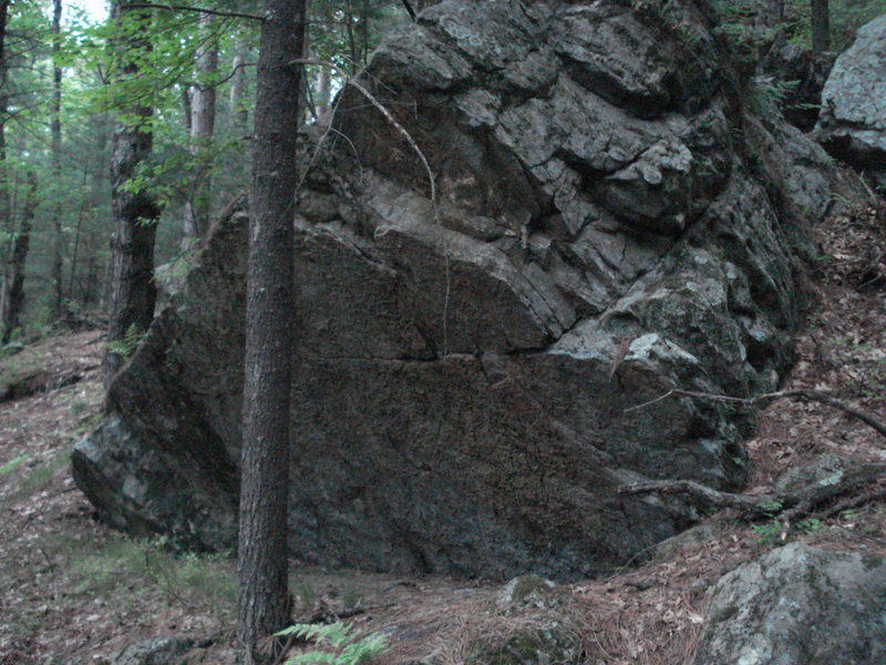 Rock Climbing Photo: Anti-Christ Boulder