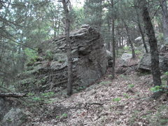 Rock Climbing Photo: This boulder may have a possible problem or 2.  To...