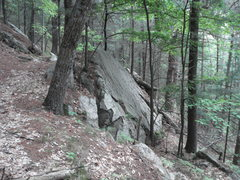 Rock Climbing Photo: Super Slab might be a bit too slabby to actually w...