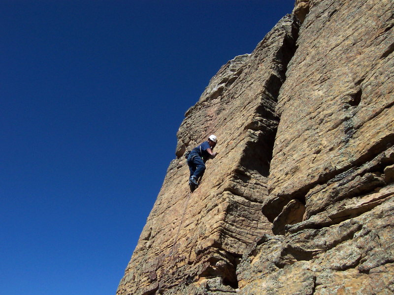 Rock Climbing Photo: new side