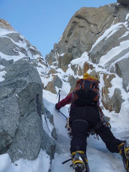 "Rock Climbing Photo: Mammut Dyneema ""screamers"" used as runne..."