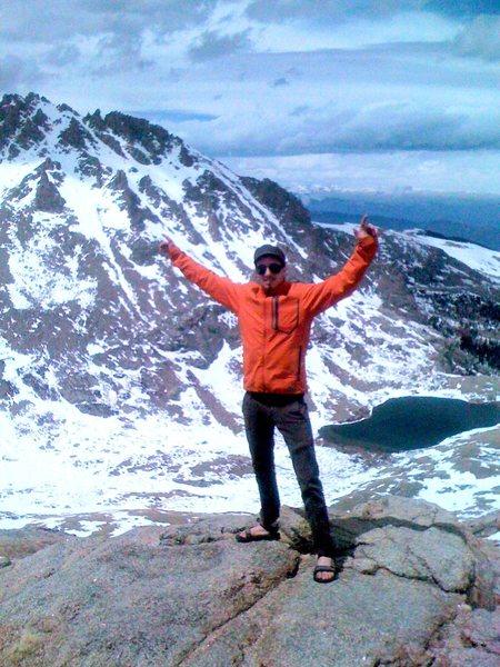 Me on Mt. Evans