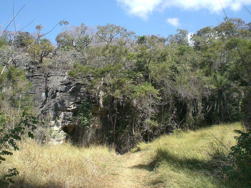 Rock Climbing Photo: The Karrenglass sector