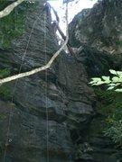 Rock Climbing Photo: Tales at the top of So Pra Elas