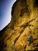Rock Climbing Photo: Corey McCarthy styling this fine little crux festi...