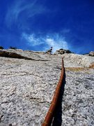 Rock Climbing Photo: Good time slabs.