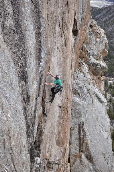 Rock Climbing Photo: Cody Scarpella on The Wasp.