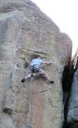 Rock Climbing Photo: Climbing in Castlewood Canyon