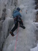 Rock Climbing Photo: ice time is the right time