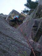 Rock Climbing Photo: Roof variation.