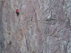 Rock Climbing Photo: Scott on The Bulge #3.