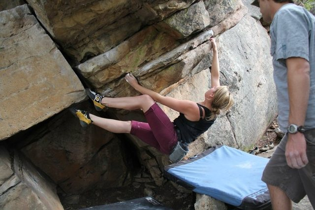 Rock Climbing Photo: Really use your feet!