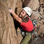 Rock Climbing Photo: Should I be trying this hard on a warmup?  photo b...
