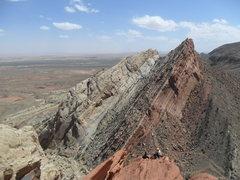 Rock Climbing Photo: Needles Ridge, Southern San Rafeal Swell