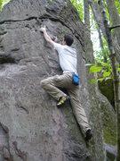 Rock Climbing Photo: Paul sending Banana Split