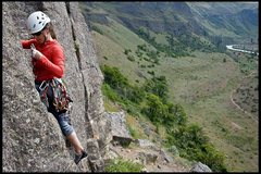 Rock Climbing Photo: Spring on The Western Front in the Tieton River Va...
