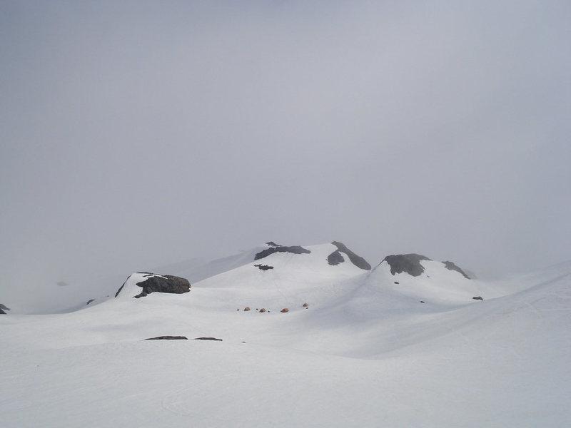 Rock Climbing Photo: Base camp.