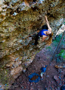 "Rock Climbing Photo: Leah Sandvoss on ""It's Time to Drink Beer&quo..."