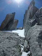 Rock Climbing Photo: the leaning boulders in early season