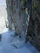 Rock Climbing Photo: early season ice