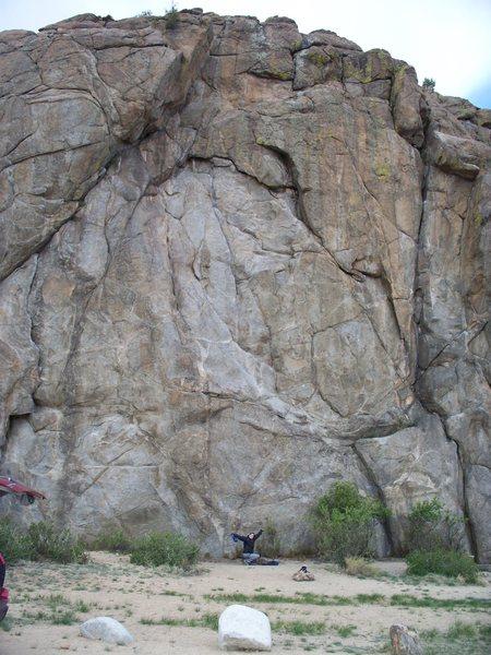 Center of Bob's Rock.