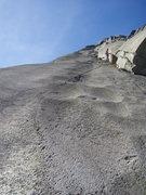 Rock Climbing Photo: A slippery slope