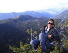 Me at Stahl Peak lookout in Montana.